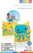 Intex Inflatable Sea Buddy Arm Bands Child Swim Pool Lake Safety Swim Float