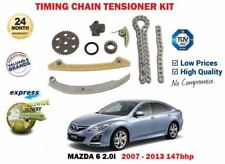 FOR MAZDA 6 2.0i MZR 147bhp 2007-2013 NEW TIMING CAM CHAIN TENSIONER + GEARS KIT
