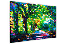 REPRINT FOREST PATH OIL PAINTING CANVAS WALL ART PRINTS DECOR ARTWORK PICTURES