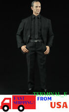 1/6 Men Agent Suit Set For Phil Coulson S.H.I.E.L.D. HotToys Phicen Figure ❶USA❶