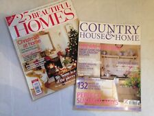 HOMES & COUNTRY HOUSE MAGAZINES DECEMBER 2002 / JUNE 2003 KITCHENS DECORATIONS