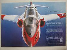 1989-1991 PUB ROLLS-ROYCE ADOUR F405 TURBOFAN US NAVY T-45A GOSHAWK TRAINER AD