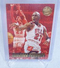 1995-96 Fleer Ultra Gold Medallion Michael Jordan Double Trouble Card #3 of 10