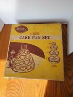Vintage Mirror 4-Tier Cake Pan Set