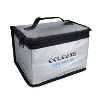 COLCASE Fireproof Explosionproof Lipo Safe Bag for Lipo Battery Storage and ,
