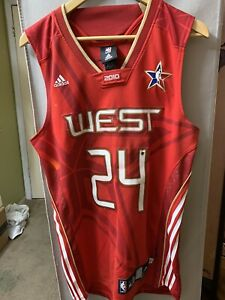Adidas LA Lakers Kobe Bryant Size Small Authentic Jersey 2010 All Star