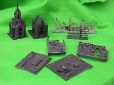 WARHAMMER SCENERY , GARDEN OF MORR ITEMS, PAINTED
