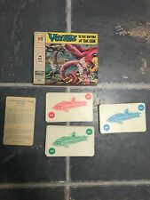 VOYAGE TO THE BOTTOM OF THE SEA Card Game VINTAGE 1964 Complete