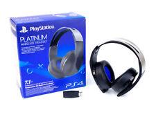 PlayStation 4 Platinum Wireless Stereo Headset 7.1+ 3D Audio Surround Sound OVP