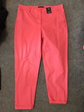 Ladies M&S Chino Trousers Size 18 Regular New Bnwt Lovely On Golf