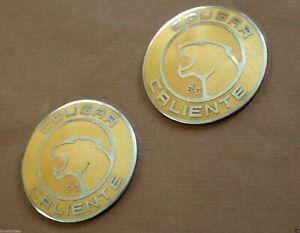 Set of Two 1997 Mercury Cougar Caliente Edition Sail Panel Emblem ...