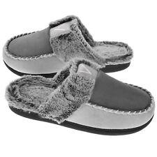 VONMAY Women's Cozy Memory Foam Slippers Fuzzy Faux Fur Slip On House Shoes