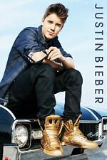 Justin Bieber Car with Gold Boots Maxi Poster LP1558 - 61x91.5cm