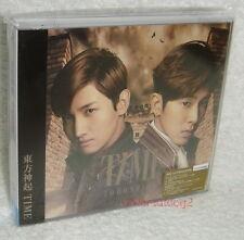 TOHOSHINKI TVXQ TIME Taiwan Ltd CD+DVD+Card (Ver.A) Dong Bang Shin Ki DBSK