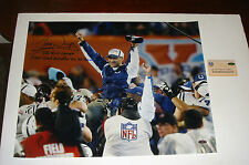 Colts HOF Tony Dungy Signed Steiner 16x20 Photo 2 Inscriptions SB XLI Champs +