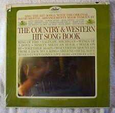 The Country & Western Hit Song Book LP Shrink Vinyl Karaoke Lyrics NICE VG++ NM