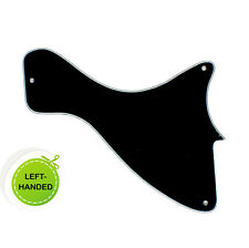 3 Ply LEFT-HANDED Guitar Pickguard For LP Les Paul Junior - BLACK- A72