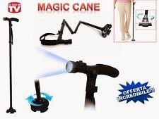 MAGIC CANE Canne de marche pliante avec stabilisateur et lumiere