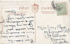 Genealogy Postcard - Family History - Vigar - Ipswich - Suffolk   GN963