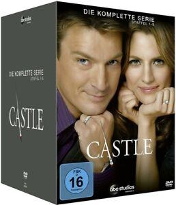 Castle - Die komplette 1. - 8. Staffel           Die komplette Serie   DVD   270