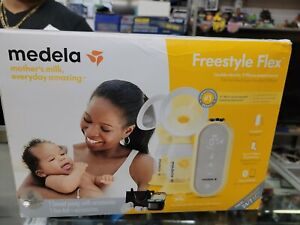(NEW)Medela Freestyle Flex Double Electric 2 Phase Breast Pump,COMPACT MORE MILK