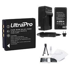 KLIC-7004 Battery+Charger+BONUS for Kodak PlaySport, PlayTouch, PlaySport Zx3