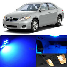 13Pcs Blue LED Lights Interior Lamp Package Kit For 2007-2011 Toyota Camry MP