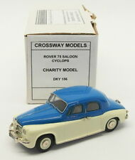 Crossway Models 1/43 Scale Model Car DKY156 - Rover 75 Saloon Cyclopes 1 Of 16