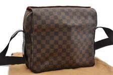 Authentic Louis Vuitton Damier Naviglio Shoulder Bag N45255 LV 84667