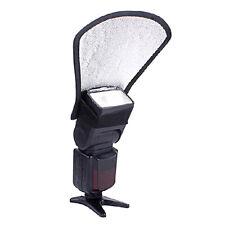 Flash Diffuser Softbox White/Silver Reflector Camera Canon Nikon Speedlite