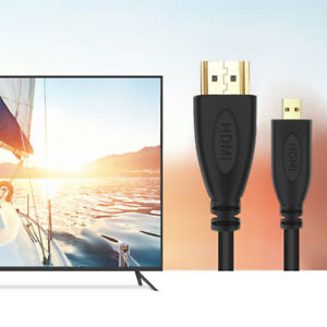 PwrON 1080P HDMI AV HD TV Video Cable Cord for Sony Handycam FDR-AX33 Camcorder