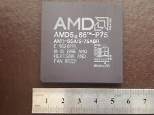 AMD 5K 86 - P75 VINTAGE CERAMIC CPU FOR GOLD SCRAP RECOVERY