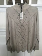 New w/tags Men's Dockers Mock Neck Acrylic Pullover Sweater