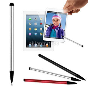 2in1 Universal Touch Screen Stylus Pen For iPhone iPad Samsung Tablet Phone AC A