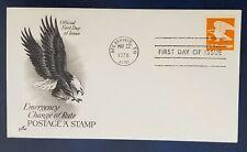 """A"" Eagle Domestic Rate FDC 15¢ Scott 1735 ArtCraft"