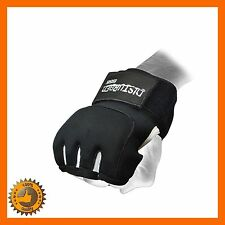 BOXING GEL GRAPPLING HAND WRAPS GLOVES SPORTS GEL MITTS WRAPS UFC MMA PUNCH SZ M