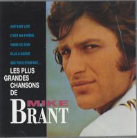 CD LES PLUS GRANDE CHANSONS DE MIKE BRANT  2717
