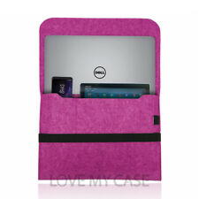 Funda de ordenador portátil de fieltro caso cubierta de bolsa para las computadoras portátiles Dell XPS e Inspiron