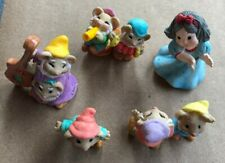 Hallmark Merry Miniatures Snow White & 7 Dwarfs Set 5 Pieces