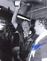 BOB HORNER W/ TED TURNER  ATLANTA BRAVES SIGNED 8X10 PHOTO W/COA