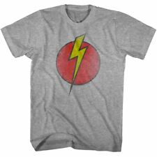 Flash Gordon Vintage Lightning Bolt Logo Mens T Shirt Space Rocket Comic Book
