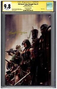 Old Guard Tales Through Time #1 CGC 9.8 SS Scorpion Comics Virgin Santa Fung 333