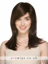 100% Real Hair Beautiful Sexy Long Brown Straight Wig For Men Human Hair New