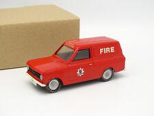 Kit Assembled Metal 1/43 Bedford Beagle Van HA London Fire Brigade Firefighters