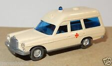 MICRO WIKING HO 1/87 MERCEDES BENZ 200 BREAK AMBULANCE CROIX ROUGE RED CROSS