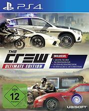 THE CREW - ULTIMATE EDITION - PS4 - NEUWERTIG nie gespielt