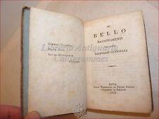 FILOSOFIA ESTETICA: DEL BELLO Ragionamenti di Leopoldo CICOGNARA 1825 Pavia