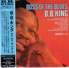B.B. KING-BOSS OF THE BLUES-JAPAN MINI LP CD E50