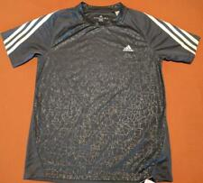 LZ Adidas Boy's Size M 10/12 Climalite Athletic Top Tee Top T-Shirt Shirt NEW N5