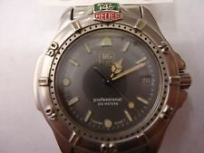 Tag Heuer 999.213A Professional 4000 Quartz Gray Dial Stainless Steel Boys Watch